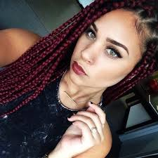 womens hairstyle the box style 15 women with braid extensions styles who are not afraid of a