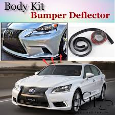 toyota celsior body kit bumper lip deflector lips for lexus ls 400 430 460 600h l for toyota