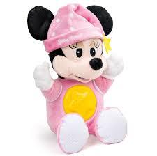 disney baby minnie mouse night soft toy 25 00 hamleys
