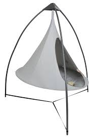 exterior design white cacoon hammock for your hanging chair design