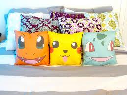 Nerd Home Decor Pokemon Character Throw Pillows 30 00 Via Etsy Pokemon Room