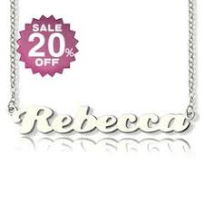 Make Your Own Name Necklace Make Your Own Name Necklace Sterling Silver Sterling Silver