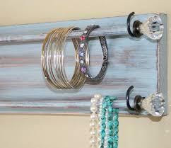 bracelet necklace organizer images Jewelry holder organizer bracelet holder rack headband wall jpg