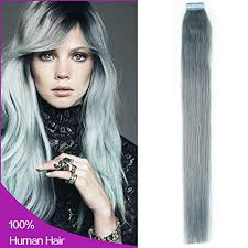 silver hair extensions new arrival in remy human hair