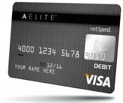elite debit card ace elite prepaid visa card
