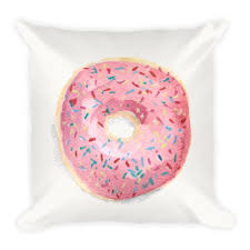 you u0027re the sprinkles to my donut pillow u2014 cami monet watercolor