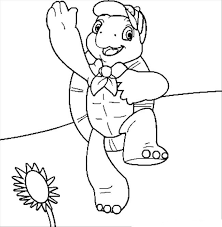 franklin turtle coloring pages franklin christmas