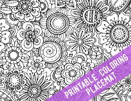coloring placemats printable coloring placemats the crafting