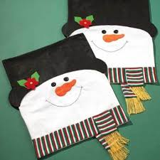 snowman chair covers sets of 2 snowman chair covers from cornerstone gallery