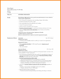 accounting resume objective statement examples accounting resume