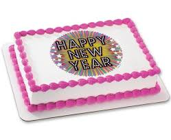 Happy New Year Cake Decoration by Cakes Com Order Cakes And Cupcakes Online Disney Spongebob