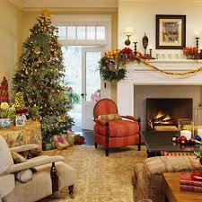 living room christmas decorating ideas laminate wooden floor white