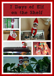 elf on the shelf thanksgiving 7 days of elf on the shelf