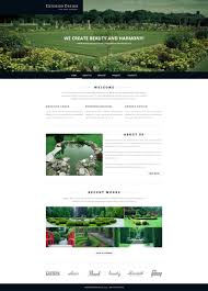 website template 51826 exterior design garden custom website