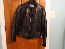 padded leather motorcycle jacket men u0027s vetter leather motorcycle jacket size 38