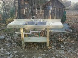 Best Outdoor Kictens Images On Pinterest Outdoor Sinks - Outdoor kitchen sink cabinet