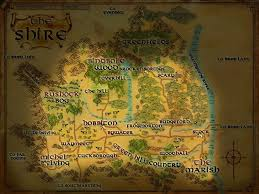 The Shire Map The Shire Minecraft Project