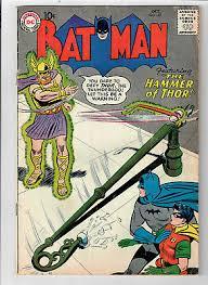 batman 127 the hammer of thor grade 3 5 scarce hot book