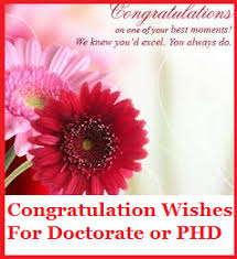 phd congratulations card congratulation messages doctorate or phd
