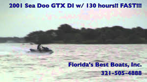 2001 sea doo gtx di w 130 hours fast youtube