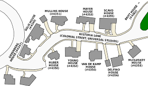 Universal Studios Hollywood Map Wisteria Lane Wikipedia