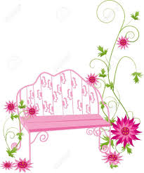 Flower Garden Chairs 2 323 Garden Chairs Cliparts Stock Vector And Royalty Free Garden