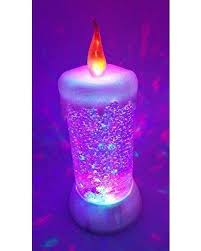 light up snow globe don t miss this deal led glitter flameless candle swirl dome
