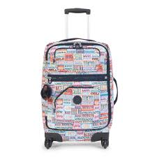 Oregon traveling bags images Darcey small printed rolling luggage kipling jpg