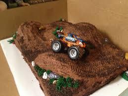 monster trucks race cakecreated monster truck cake