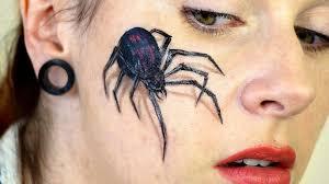 www letzmakeupblog com 3d spider halloween makeup