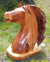 cedar wood sculpture chainsaw carved by jeff pinney woodworking