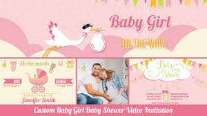 baby shower invitation baby personalized baby shower