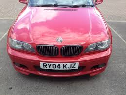red bmw e46 bmw e46 330ci facelift m sport 6 speed manual rare imola red in