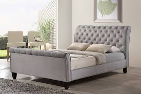 Grey Sleigh Bed Your Guide To Buying The Bed Worldwide Homefurnishings Inc