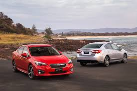 subaru red image subaru 2016 impreza red two cars