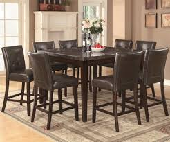 Counter Height Dining Room Table Sets Coaster Milton Counter Height Table W Marble Top Coaster Fine
