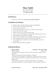 brilliant ideas of cover letter sample kitchen assistant resume