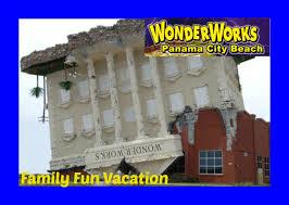 wonderworks upside down building in panama city florida family