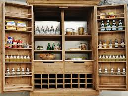 Free Standing Kitchen Pantry Furniture Accent Kitchen Storage Cabinets With Doors And Shelves U2013 Home
