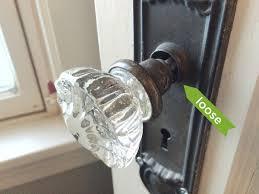 Replace Interior Door Knob Replace Interior Door Knob Door Knobs