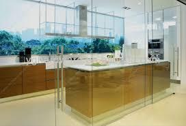 glass wall in kitchen modern with kitchen home design interior