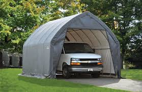 12 Car Garage by Shelterlogic 13x20 Alpine Style Auto Shelter 12 U0027 Tall 62693