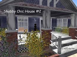 Beach Shabby Chic by Second Life Marketplace Promo Bungalow Beach Shabby Chic House