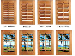well groomed costom wooden windows blind with several shape of