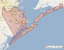 map of galveston superfund in galveston county tceq tceq gov