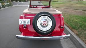 willys jeepster for sale 1951 willys jeepster restomod for sale youtube