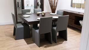 modern dining room sets for 8 19125 table set dark wood great