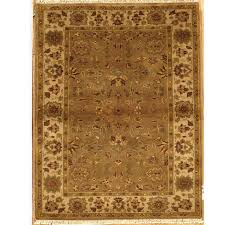 Overstock Com Rugs Runners Hand Knotted Essex Brown Wool Runner Rug India Free Shipping
