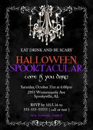 halloween party invitation spooktacular invitations halloween