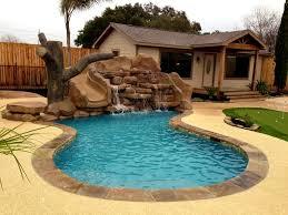 interior handsome elevated small yard pool gib san pools design